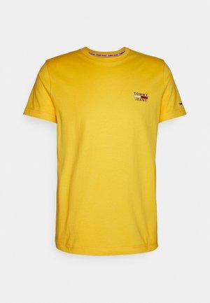 CHEST LOGO TEE - T-shirt med print - pollen