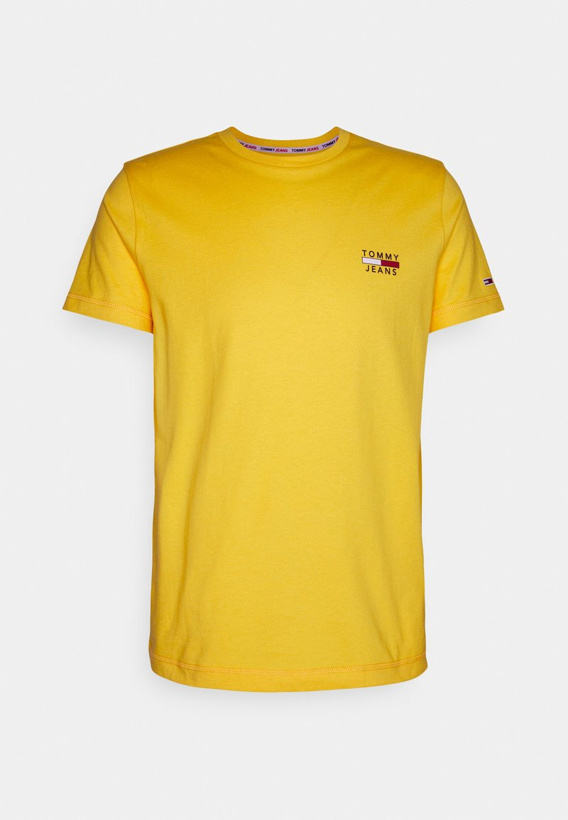 Tommy Jeans - CHEST LOGO TEE - Basic T-shirt - pollen
