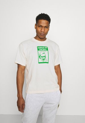 TONGUE STAN TEE UNISEX - T-shirts med print - white