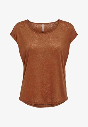 LOOSE FIT - T-shirt basic - ginger bread