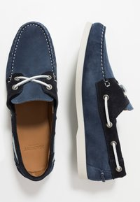 Hackett London - Boat shoes - denim/navy - 1