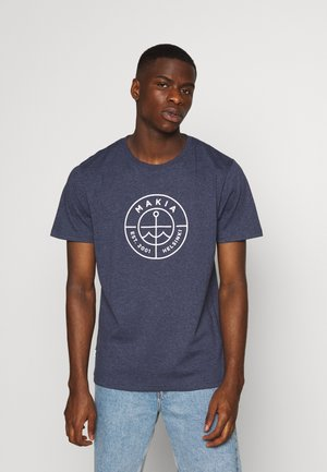RE SCOPE - T-shirt print - navy