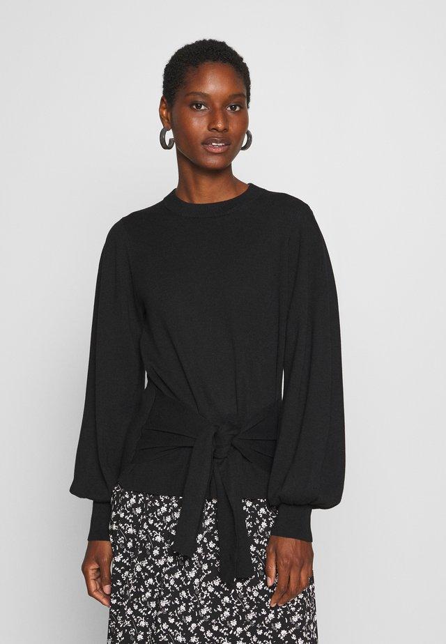 SAMMY TIE - Pullover - black
