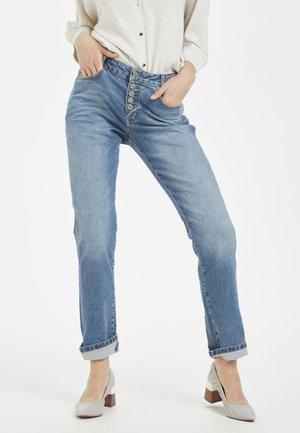 Straight leg jeans - vintage wash