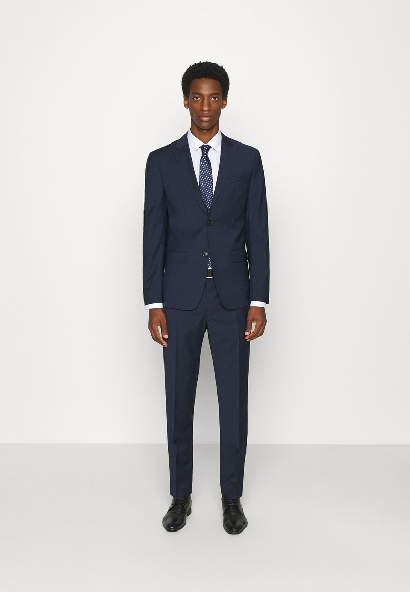 Calvin Klein Tailored - TROPICAL STRETCH SUIT - Completo - calvin navy