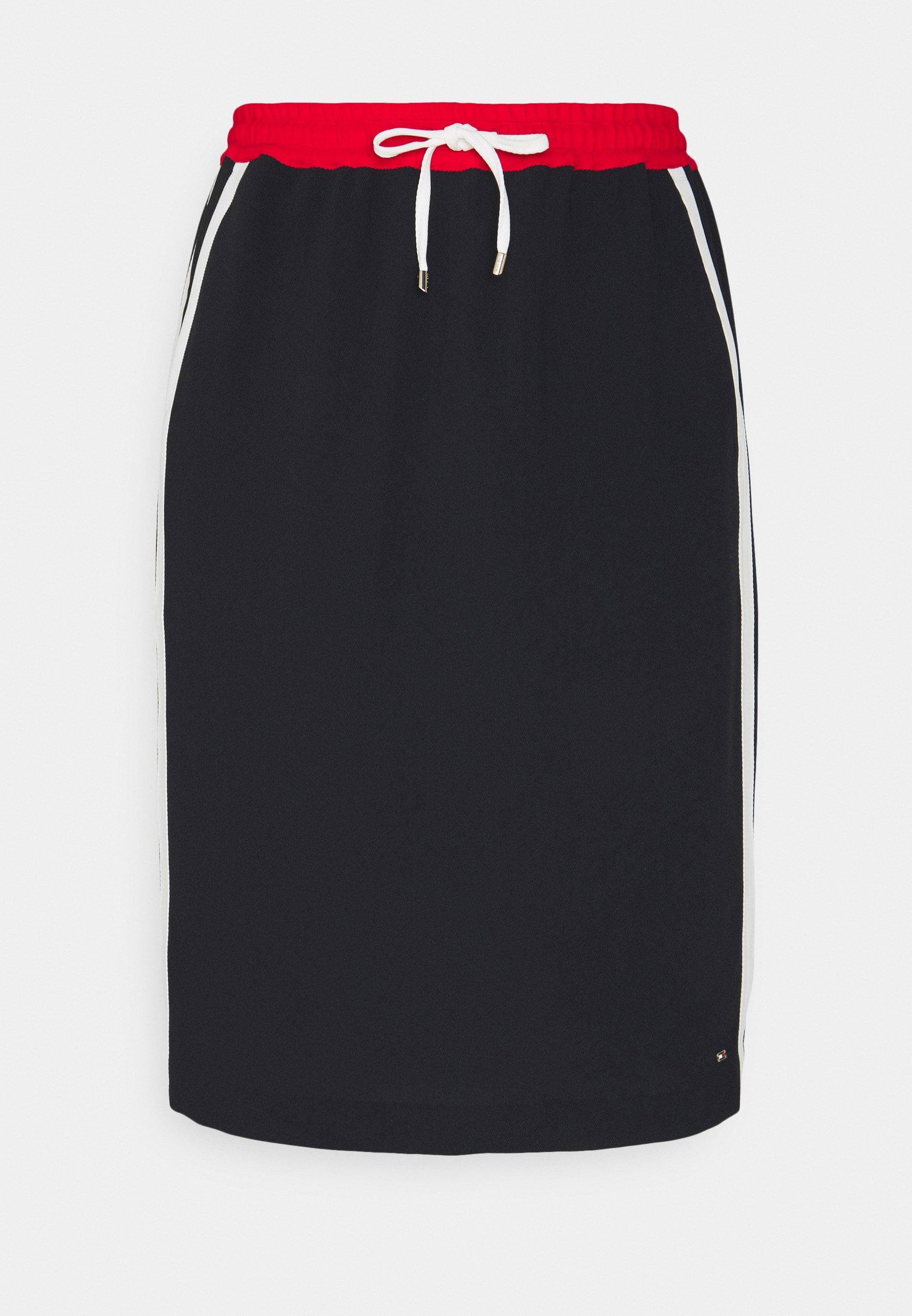 Women FLUID KNEE SKIRT - Pencil skirt