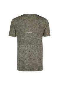 ASICS - RACE SEAMLESS - Print T-shirt - smog green - 1