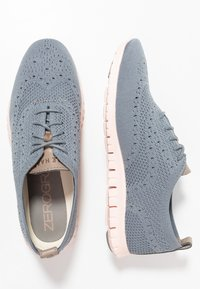 Cole Haan - ZEROGRAND STITCHLITE OXFORD - Sneaker low - ironstone/tropical peach - 3