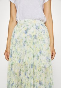 Abercrombie & Fitch - PLEATED MIDI - A-line skjørt - white - 4