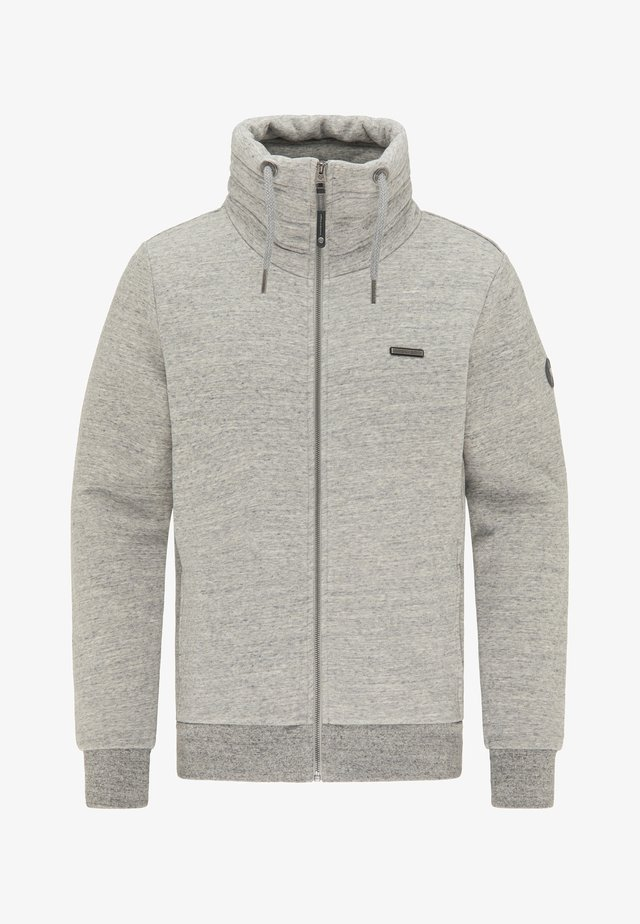 JUCAY - Sweat à capuche zippé - grey