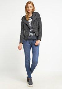 ONLY - ONLAVA BIKER  - Faux leather jacket - black - 1