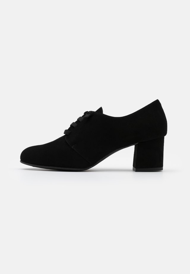 LAOS - Lace-up heels - black