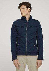 TOM TAILOR - BIKER - Light jacket - sky captain blue - 0