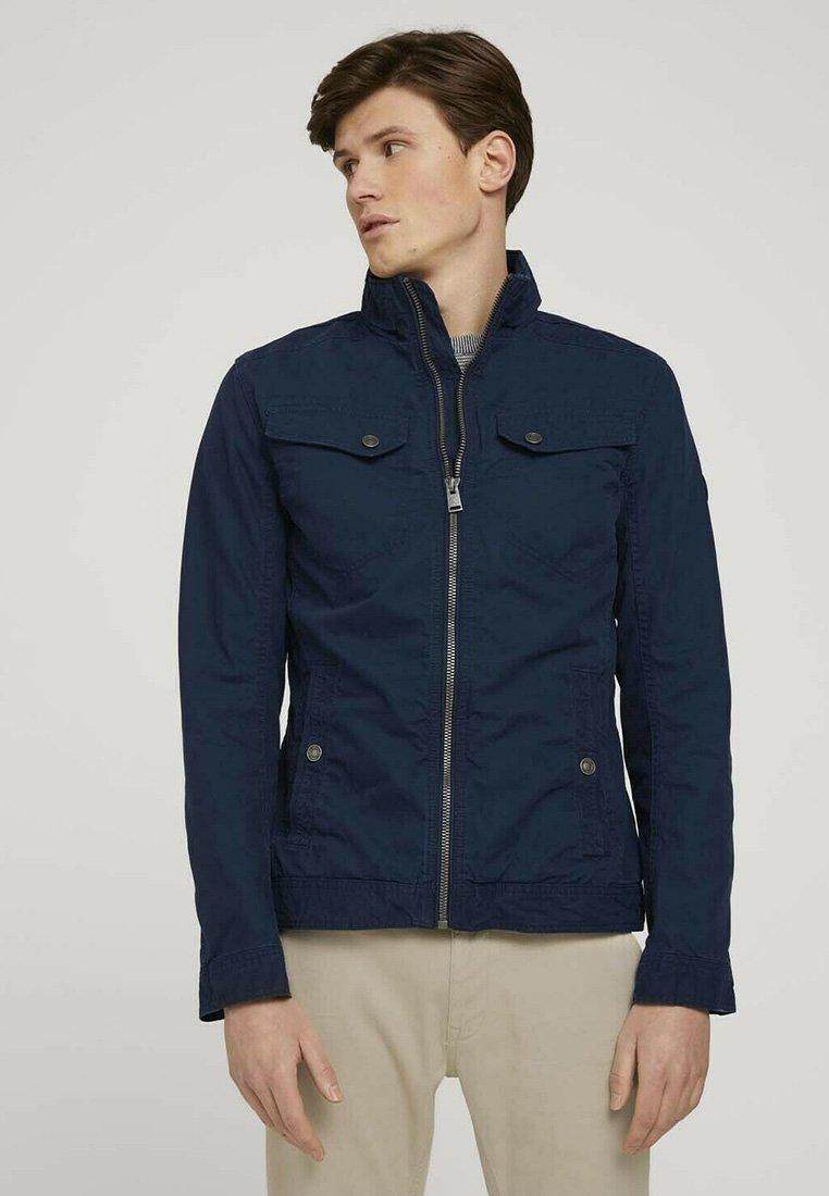 TOM TAILOR - BIKER - Light jacket - sky captain blue
