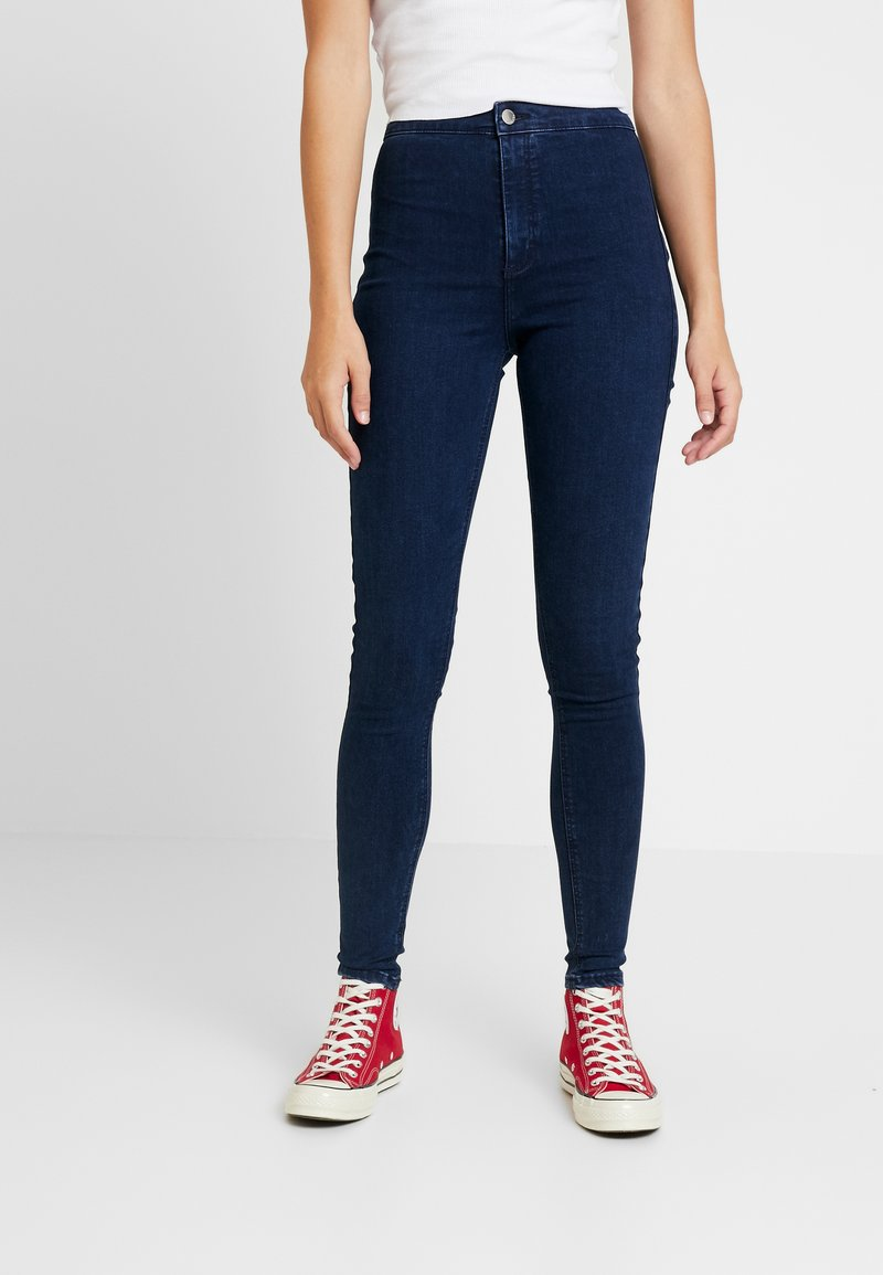 Topshop Tall - HOLDING POWER JONI - Jeans Skinny Fit - indigo