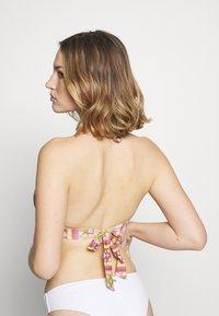 Women Secret - TRIANGULAR HALTER - Bikinitop - beige - 2