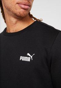 Puma - LOGO CREW - Sweatshirt - black - 5