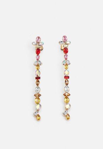 PCMAGGU EARRINGS - Earrings - gold-coloured/multi