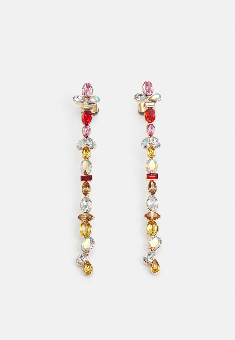 Pieces - PCMAGGU EARRINGS - Earrings - gold-coloured/multi