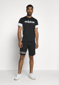 adidas Performance - HYPER - Sports shorts - black - 1