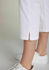 Oui - Trousers - optic white - 3