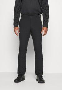 adidas Golf - FALLWEIGHT PANT - Tygbyxor - black - 0