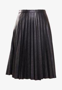 J.CREW - A-line skirt - black - 4
