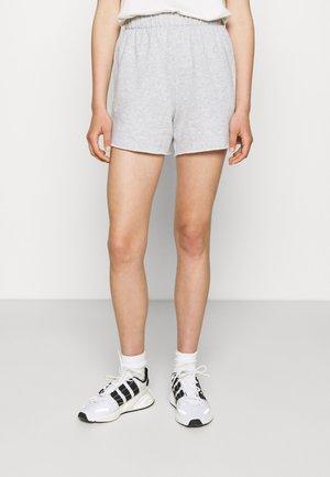 HIGH RISE - Shorts - grey