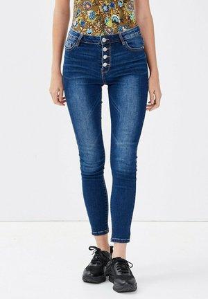 Jeans Skinny Fit - denim stone