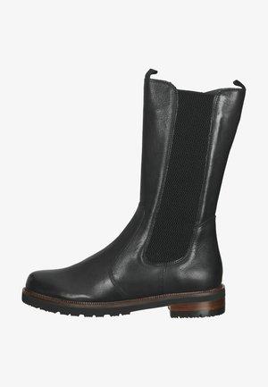 Platform boots - ginger black