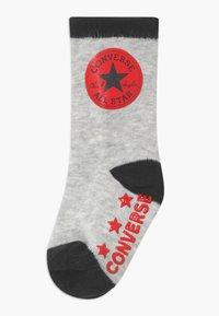 Converse - DINOS INFANT CREW 3 PACK - Socks - lunar rock - 1