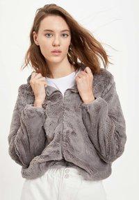 DeFacto - Winter jacket - grey - 4
