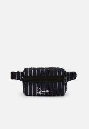 SIGNATURE HIP BAG  - Ledvinka - black