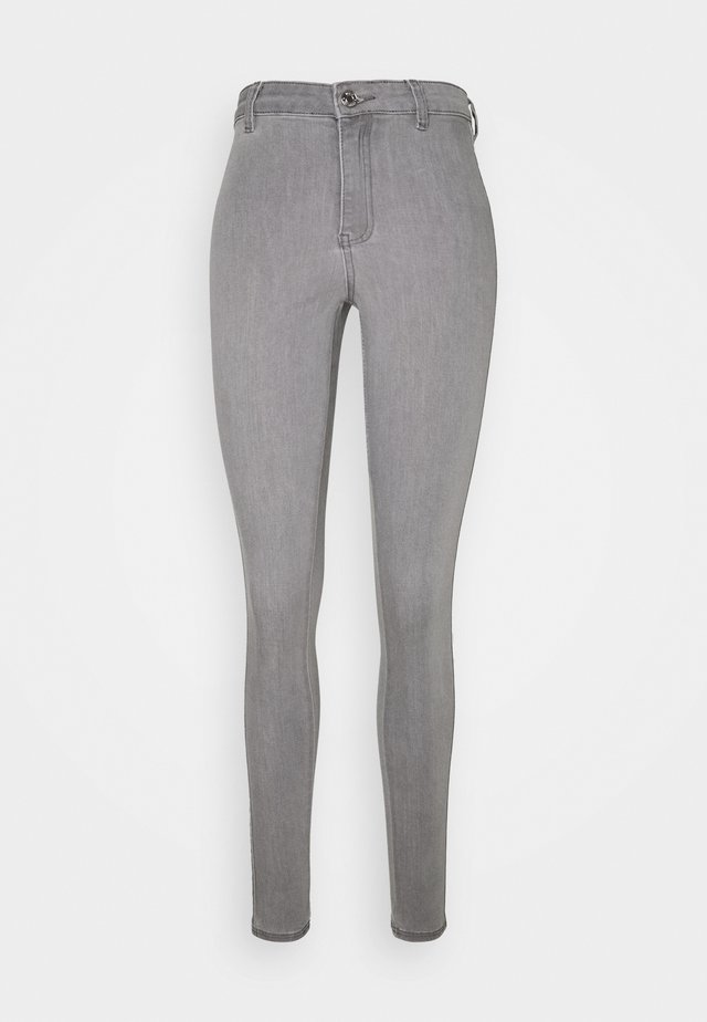 VICE HIGHWAISTED - Jeans Skinny Fit - grey