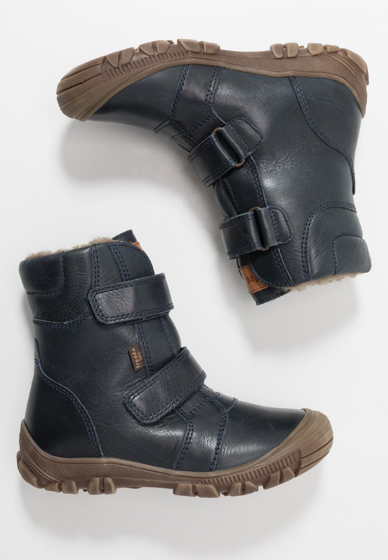 Froddo - WARM LINING - Winter boots - dark blue