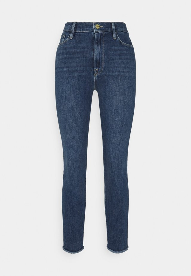ALI HIGH RISE TURN BACK HEM - Jeans Skinny - van ness