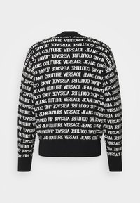 Versace Jeans Couture - FILATO MIXED LETTERING  - Jumper - black - 7