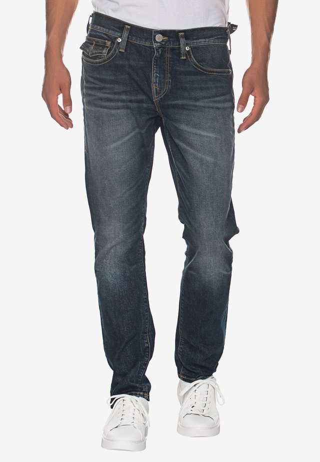 NEW GENO - Straight leg jeans - blue stone