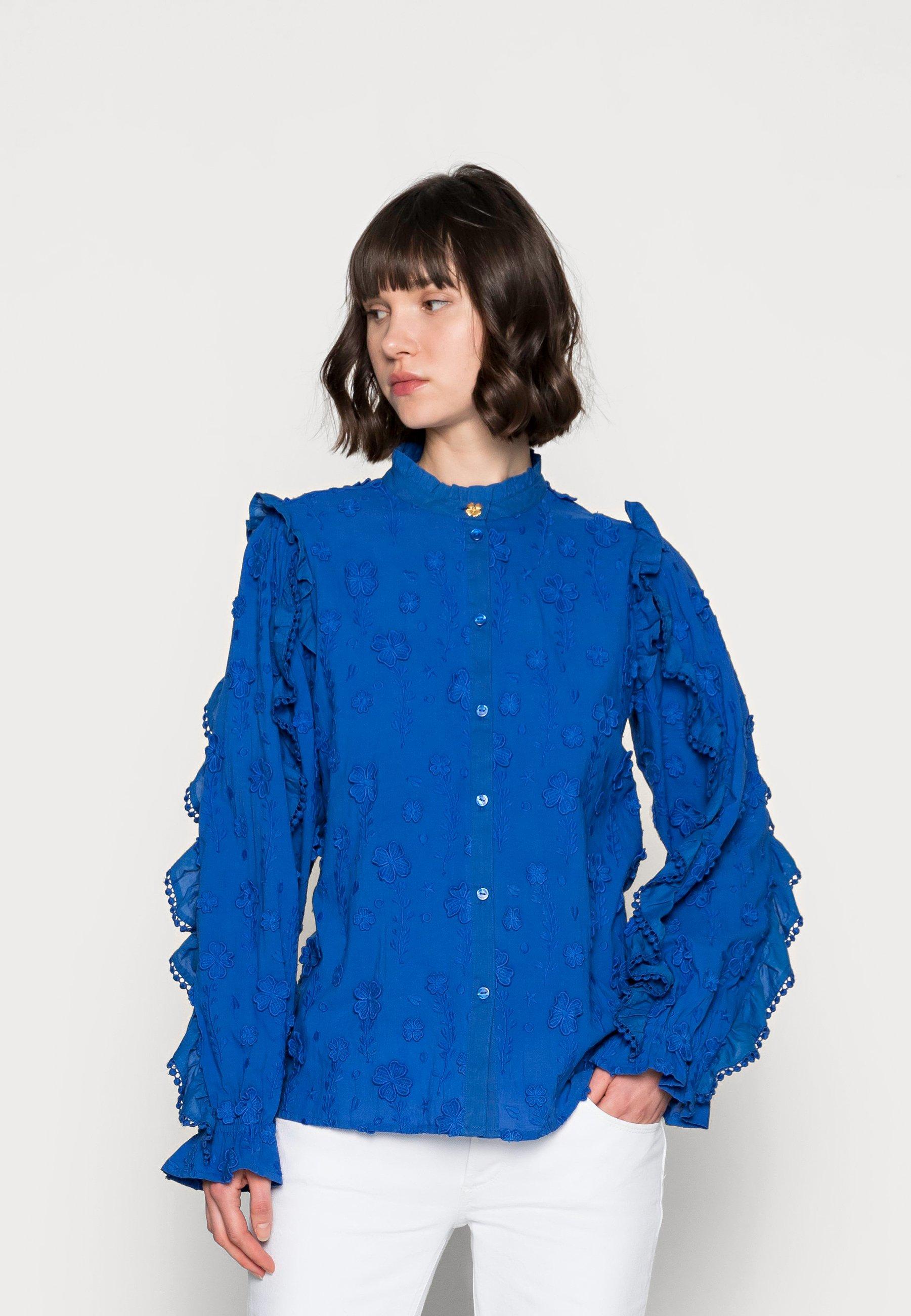 Women JOSEFIN BLOUSE - Button-down blouse