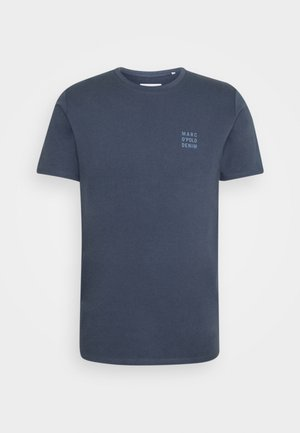 LOGO PRINT - T-shirt print - grayish blue