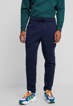 CUT AND SEW PANTS - Tracksuit bottoms - midnightnavy