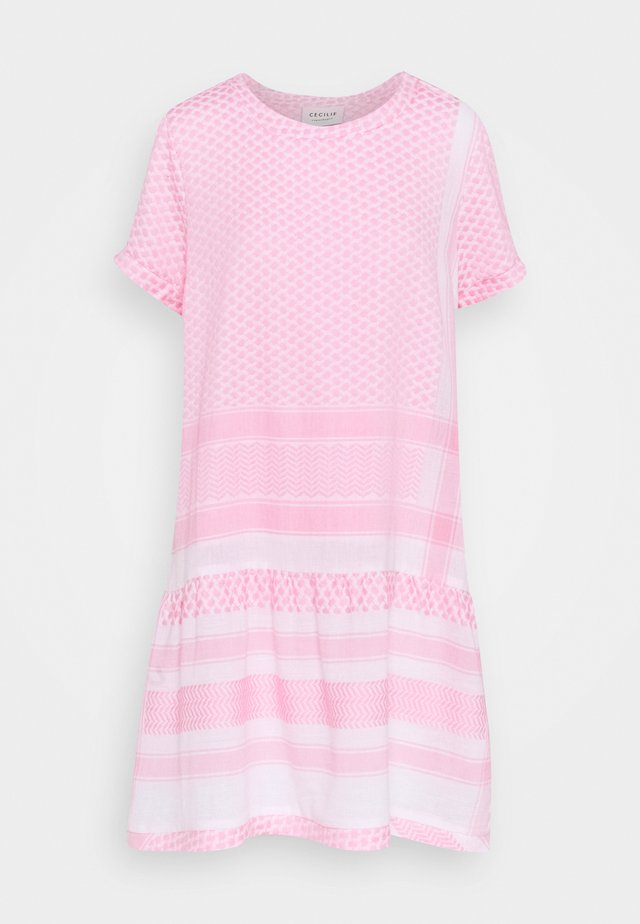 DRESS SHORT SLEEVES - Korte jurk - bubble