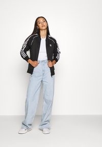 adidas Originals - TRACKTOP - Veste de survêtement - black/white - 1