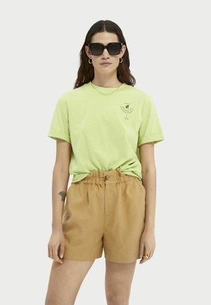 T-shirt print - seaweed