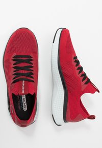 Skechers Sport - SOLAR FUSE - Zapatillas - red/black - 1