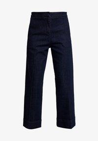 Opus - MILA - Flared jeans - deep rinsed blue - 4