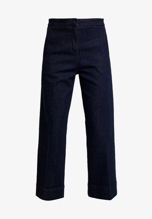 MILA - Flared jeans - deep rinsed blue