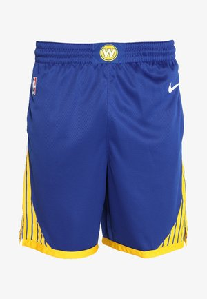 GOLDEN STATE WARRIORS NBA M NK SWINGMAN SHORT - Sports shorts - rush blue/white/amarillo