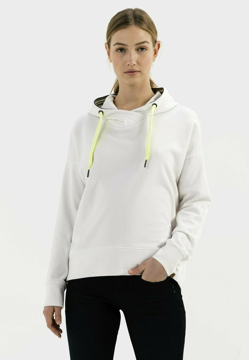 camel active - Hoodie - white