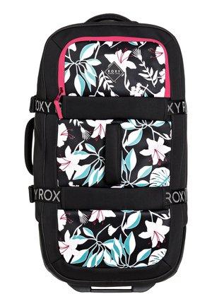 ROXY™ IN THE CLOUDS 87L - GROSSER NEOPREN-KOFFER MIT ROLLEN ERJBL - Wheeled suitcase - true black story of sunshine